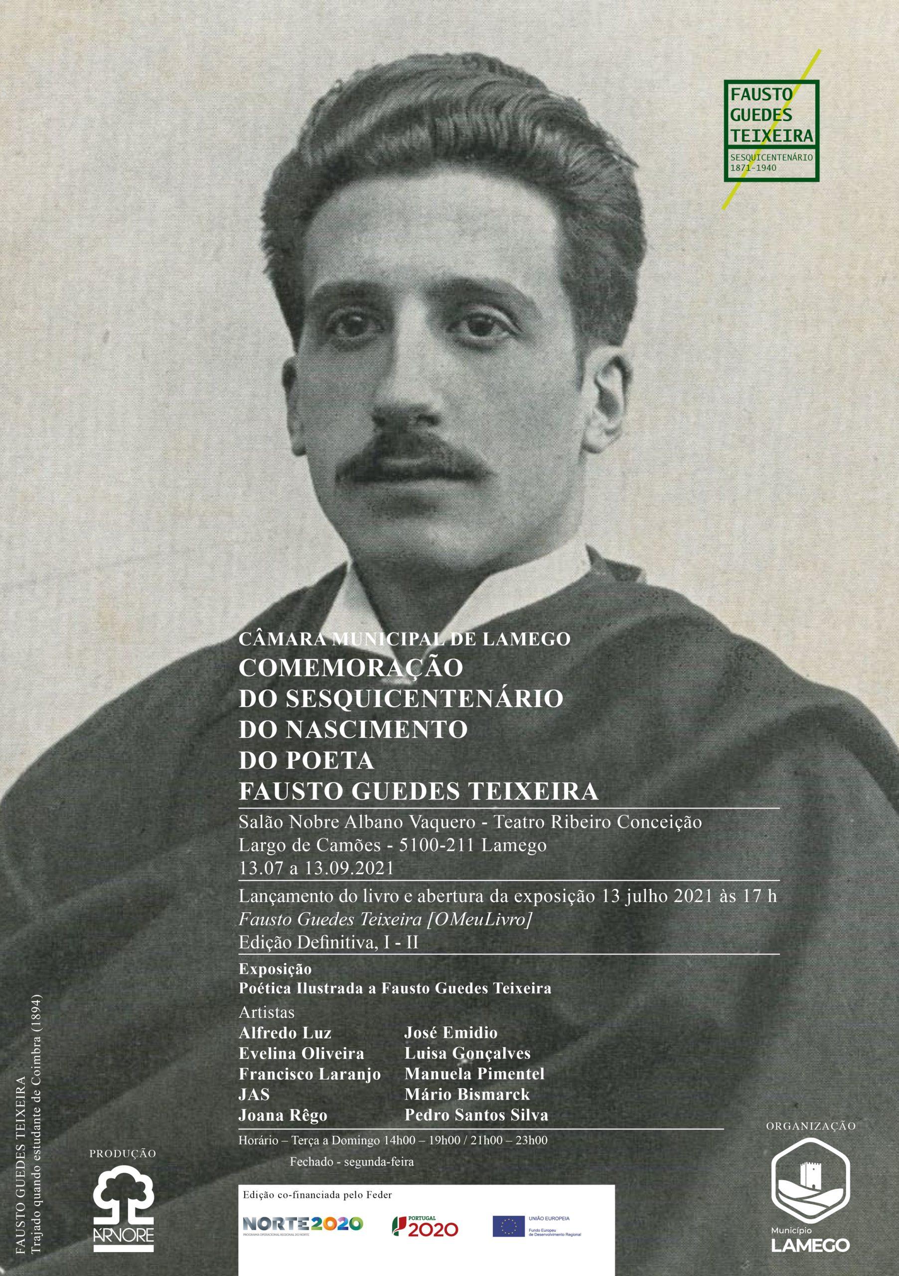 Comemoração do Sesquicentenário do Nascimento do Poeta Fausto Guedes Teixeira